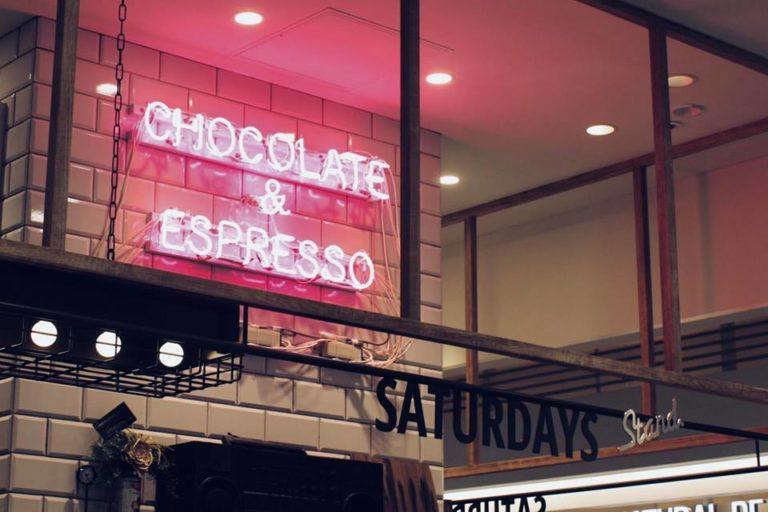 Chocolate & Espresso SATURDAYS Stand