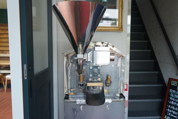 焙煎研究所製焙煎機1号機