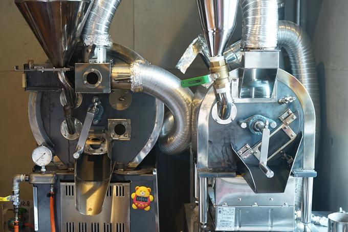 焙煎研究所製焙煎機3号機と4号機