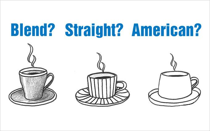 ブレンド?ストレート?アメリカン?コーヒーのメニューをまとめてみた