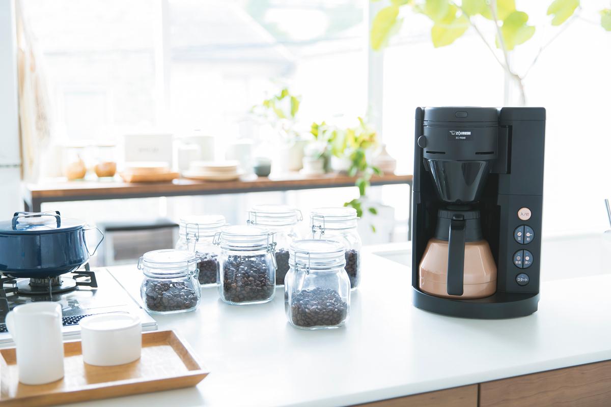 味わいを自分好みに調整!象印の新しいコーヒーメーカーは美味しいコーヒーを作る機能が満載!