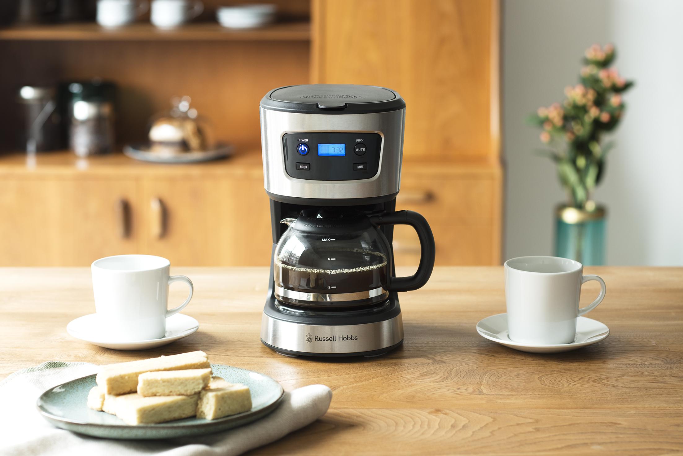 生活を彩ってくれる「ラッセルホブスのコーヒーメーカー」4つの魅力