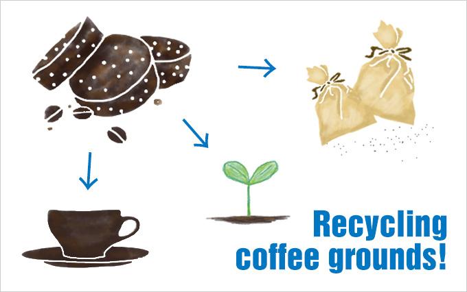 知れば知るほど役に立つ!コーヒーの粉の再利用法3選!