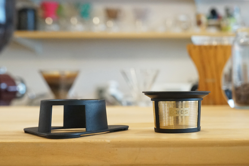 cores(コレス)シングルカップゴールドフィルターを分解