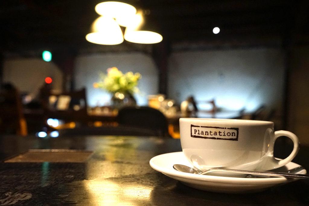 コーヒーだけでなく空間も魅力的なMORIHICO.の様子