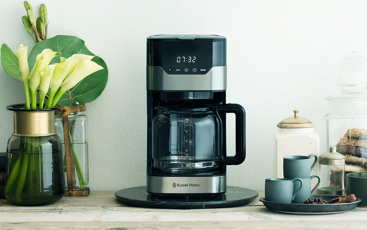 Russell Hobbsから発売されるこのコーヒーメーカーがスペシャルティーコーヒーを美味しく淹れられる理由