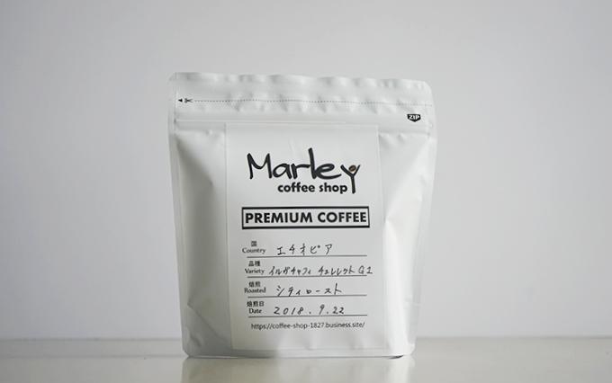 エチオピア イルガチェフィG1 ナチュラル by Coffee Shop Marley