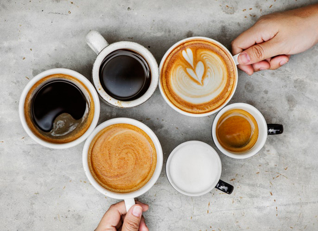 様々なコーヒーに関わるカップ