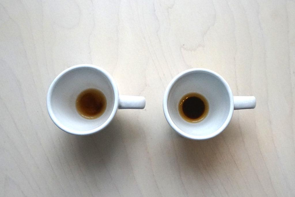 飲み終えたカップ
