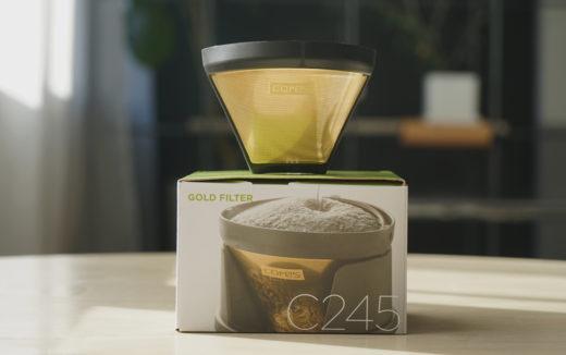 純金の味わい。コレス ゴールドフィルターでコーヒー豆の個性を楽しみませんか?