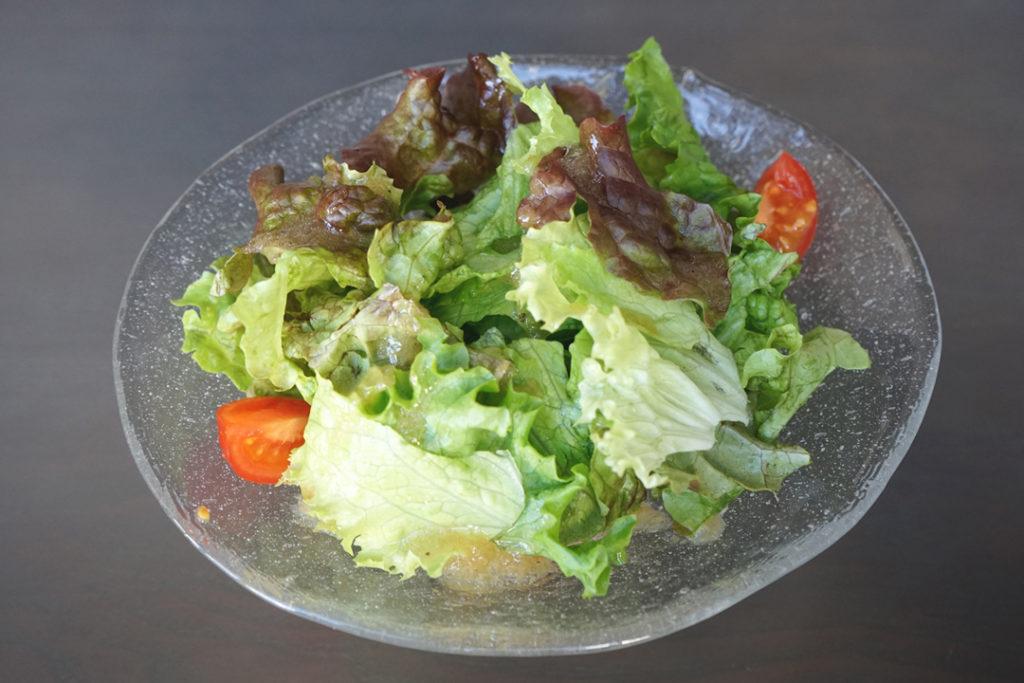 C2cafe「ランチセット」のサラダ