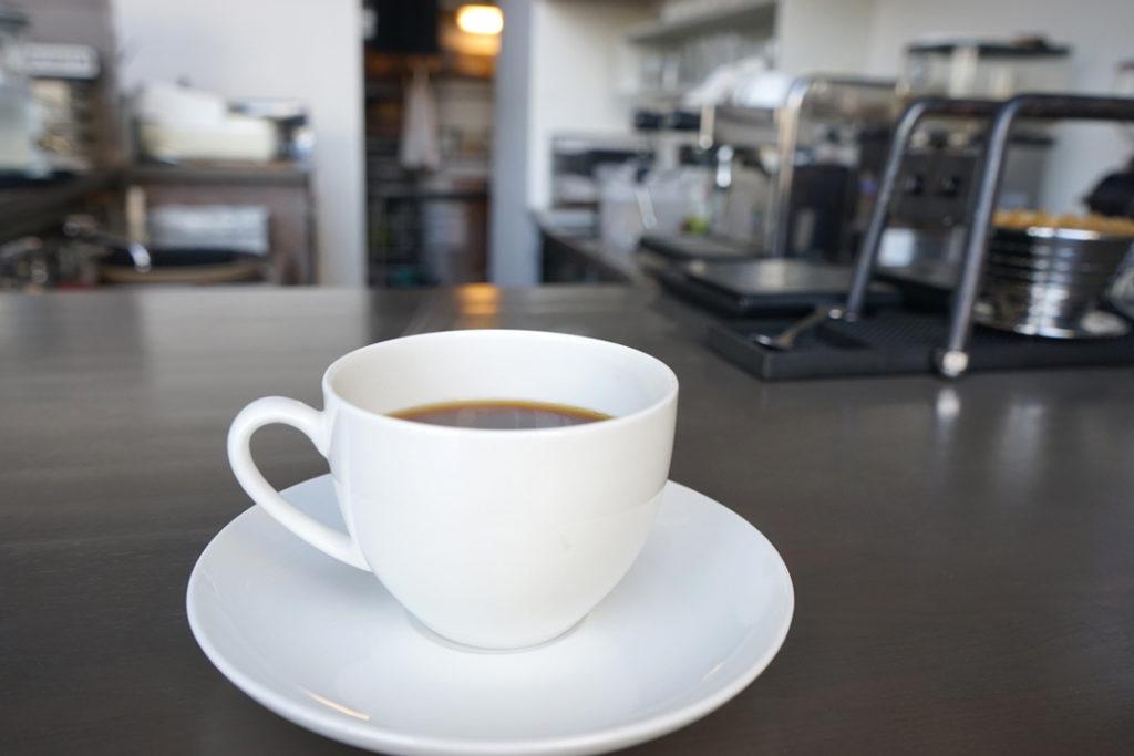 C2cafe食後のコーヒー