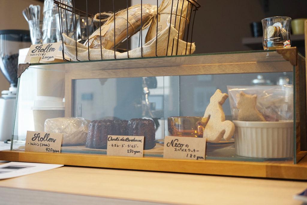 COJICA COFFEEの焼菓子一覧