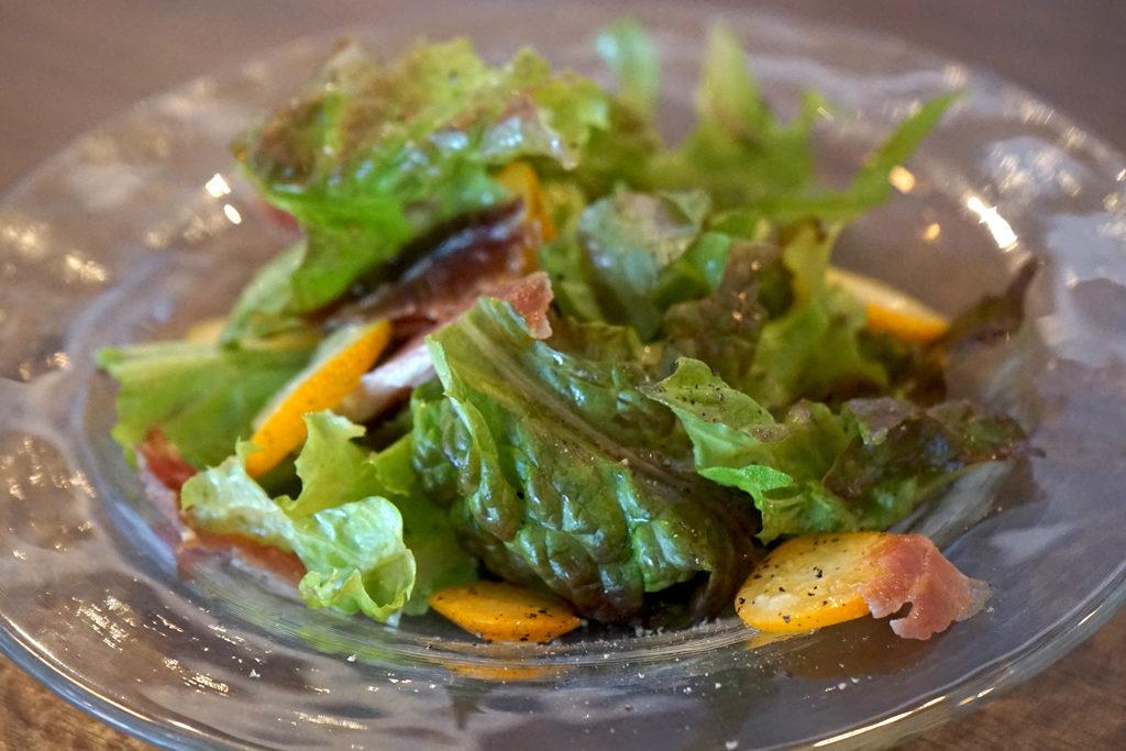 Cafe Tococheの「セットメニュー」のサラダ