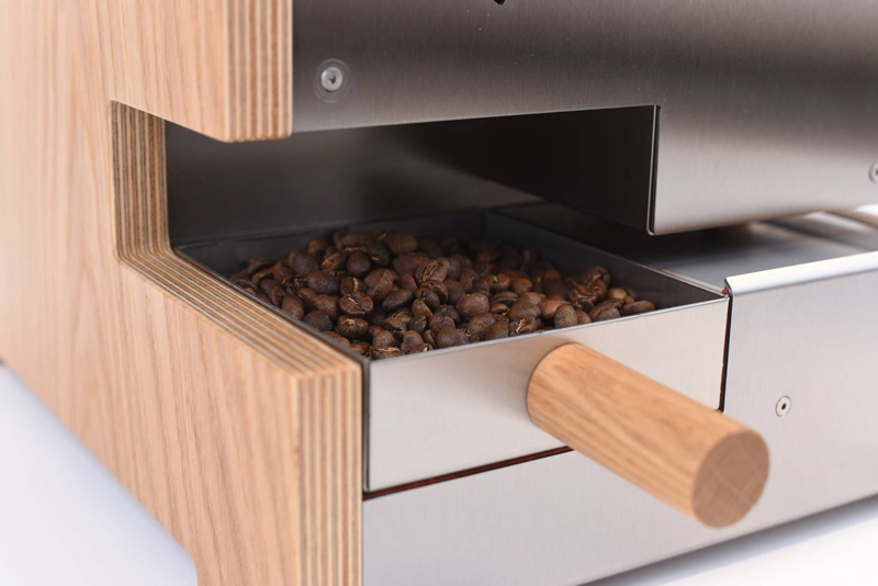 ROESTで焙煎されたコーヒー豆