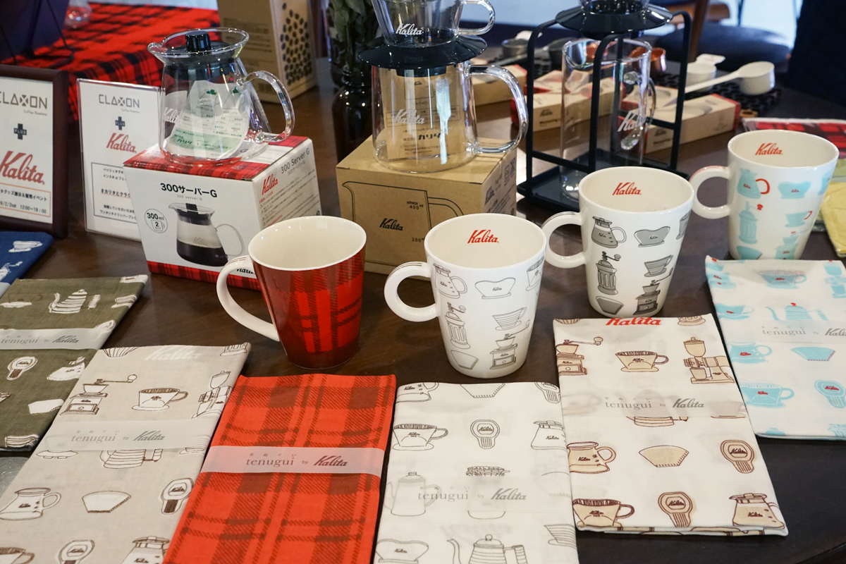 【レポート】コーヒーグッズ・スイーツ好き必見!CLAXON CoffeeRoasters + Kalitaのコラボイベント!