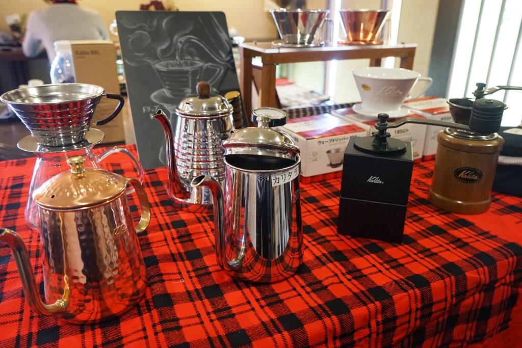 CLAXON CoffeeRoasters(クラクション コーヒーロースターズ)とKalita(カリタ)のコラボイベント