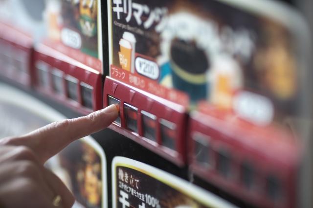 カップ式自動販売機のイメージ