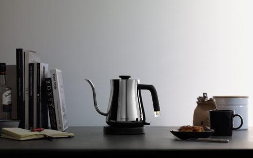 バルミューダの電気ケトル『BALMUDA The Pot』に待望の新色Chrome(クローム)が登場!