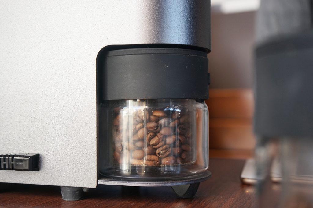 The Roastで焙煎したコーヒー豆