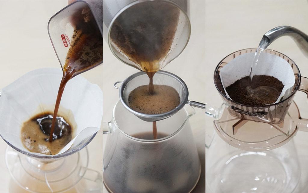 簡単コーヒー3つの比較