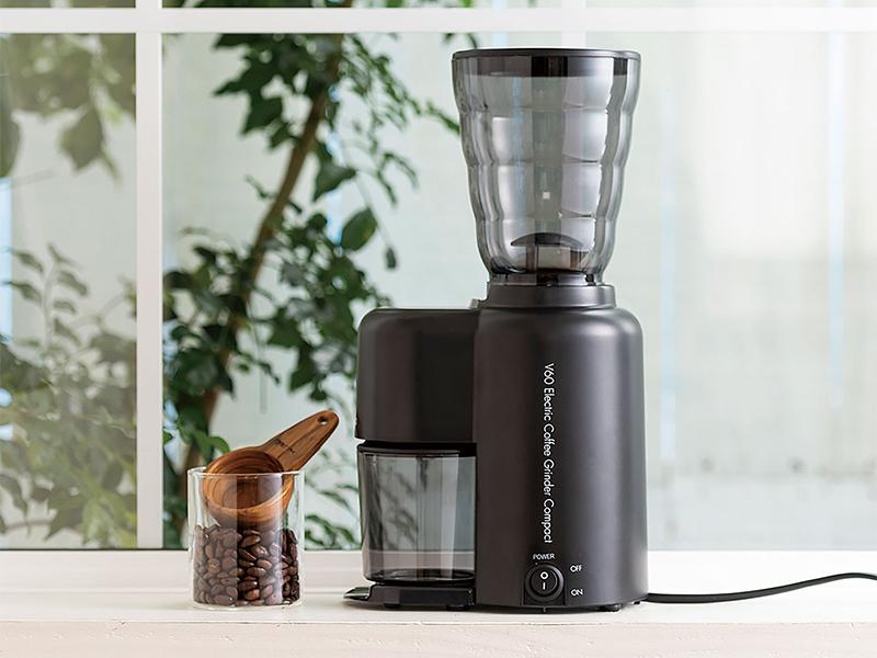V60 電動コーヒーグラインダーコンパクト機能紹介