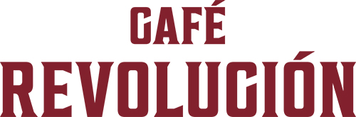 CAFÉ REVOLUCIÓN(カフェ レボルシオン)ロゴ