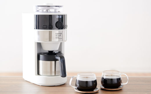 UCCとsirocaの共同開発!コーン式全自動コーヒーメーカー(UCC特別仕様)登場!