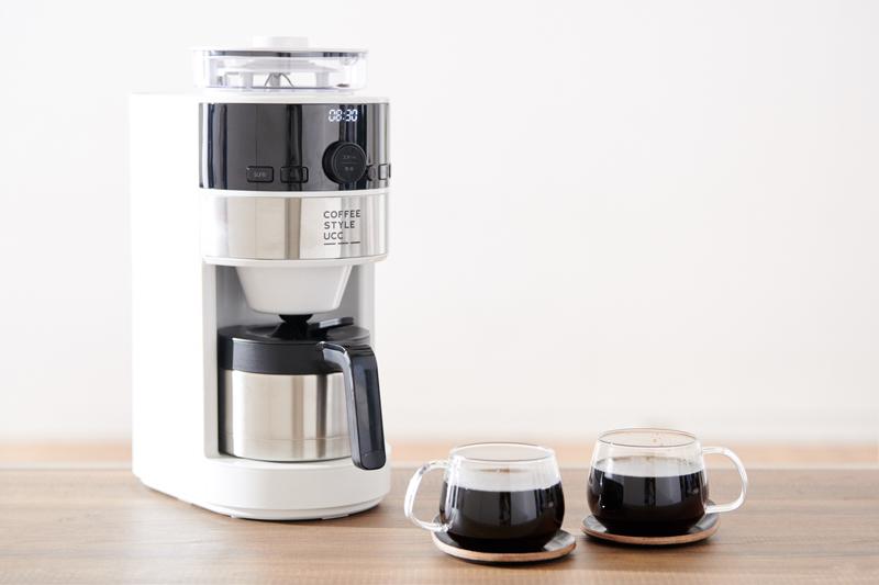uccとsirocaが共同開発した全自動コーヒーメーカー