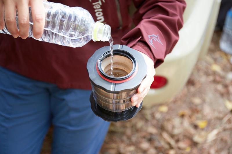 ホットコーヒーだけじゃない!KOMPACTは水出しコーヒーだって淹れられる!