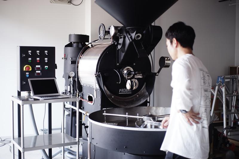 ONIBUS COFFEE(オニバスコーヒー)焙煎機