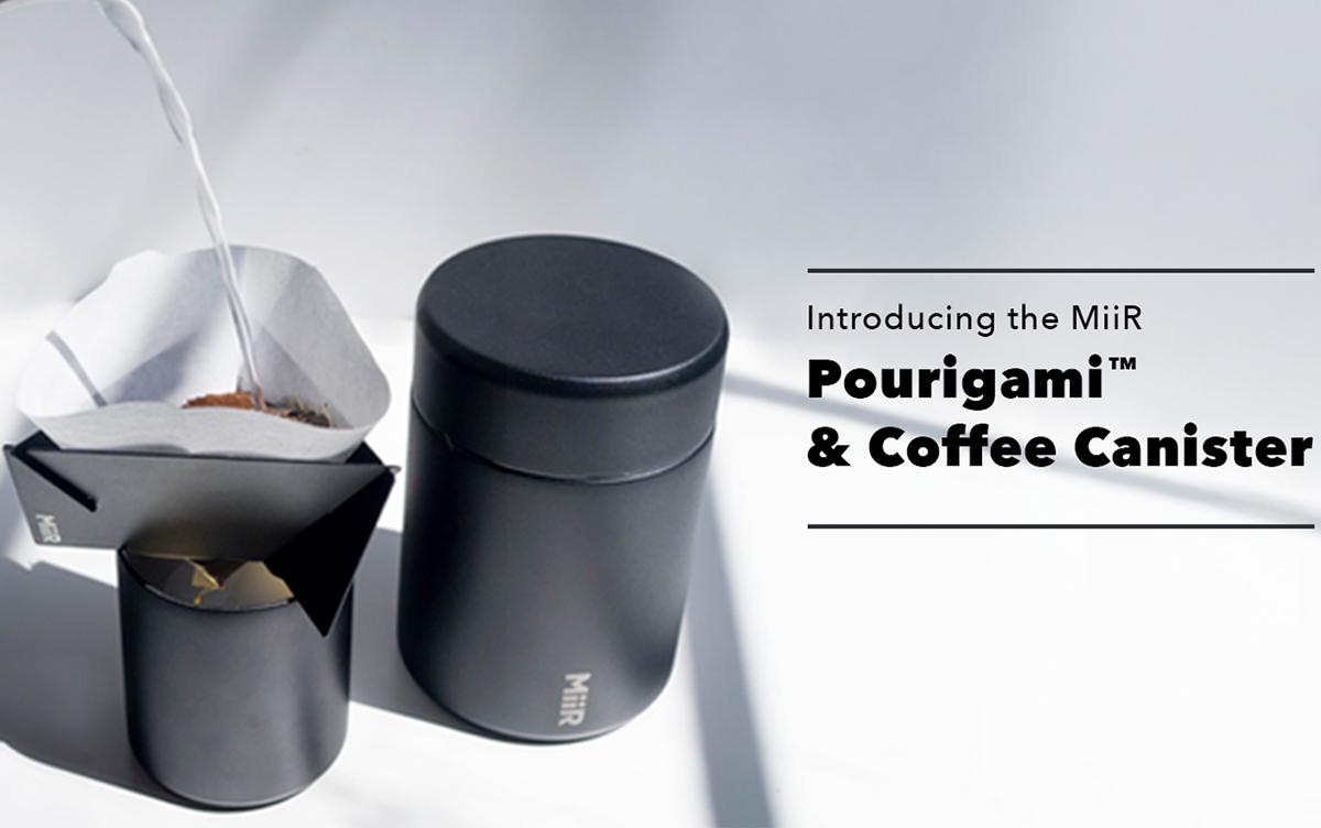 シアトル発ブランドMiiRからデザイン性・機能性に優れたコーヒー器具2種類が登場