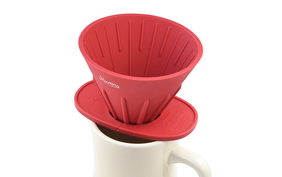 わずか14gの折りたたみ式ドリッパーホルダー『ポンド F』がアウトドアのハンドドリップコーヒーをもっと楽しくしてくれる