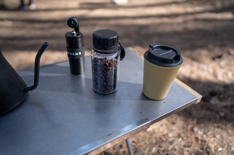 コーヒー豆の容器として使用