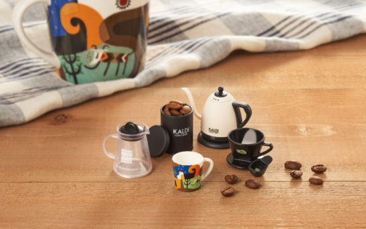 カルディー好き必見!全5種類の「コーヒーグッズ ミニチュアフィギュア」プレゼントキャンペーン