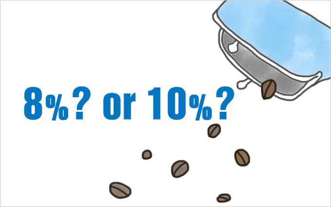 コーヒー豆って軽減税率の対象になるの?