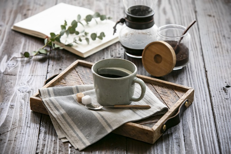 味わうカフェオレカップイメージ2