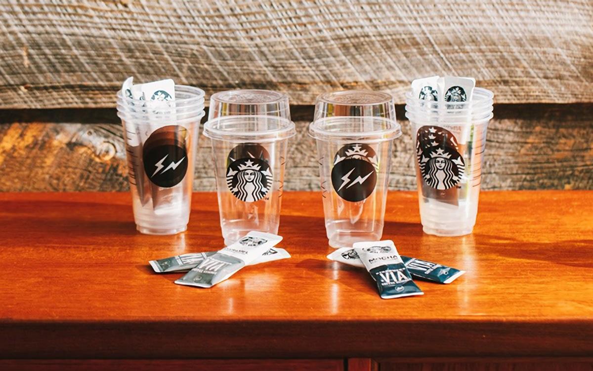 大人気のスターバックス × Fragment Designコラボ再び!今回はアイスコーヒーとカップのセット!