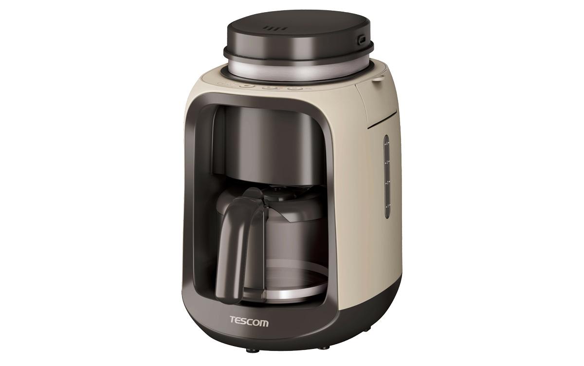 コンパクトボディに詰まった2つのこだわり!本格珈琲を淹れられる『全自動コーヒーメーカー TCM501』登場!