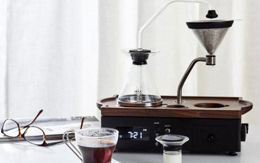 コーヒーメーカー × 目覚まし時計!?イギリスのプロダクト『The Barisieur – Coffee & Tea Alarm Clock』が日本上陸!