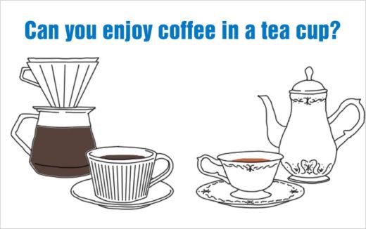 【どこが違いなの!?】コーヒーカップ vs ティーカップ