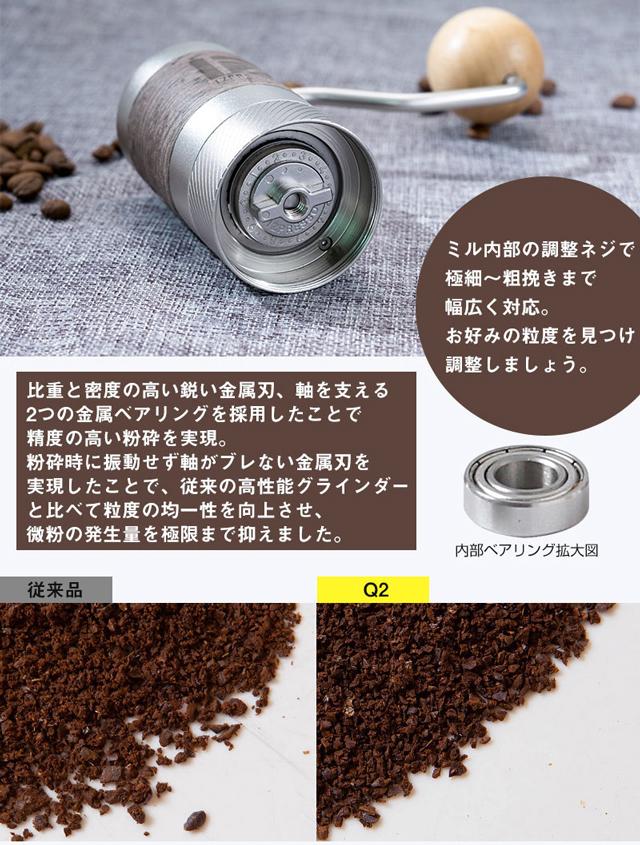 コーヒーグラインダーQ2イメージ2