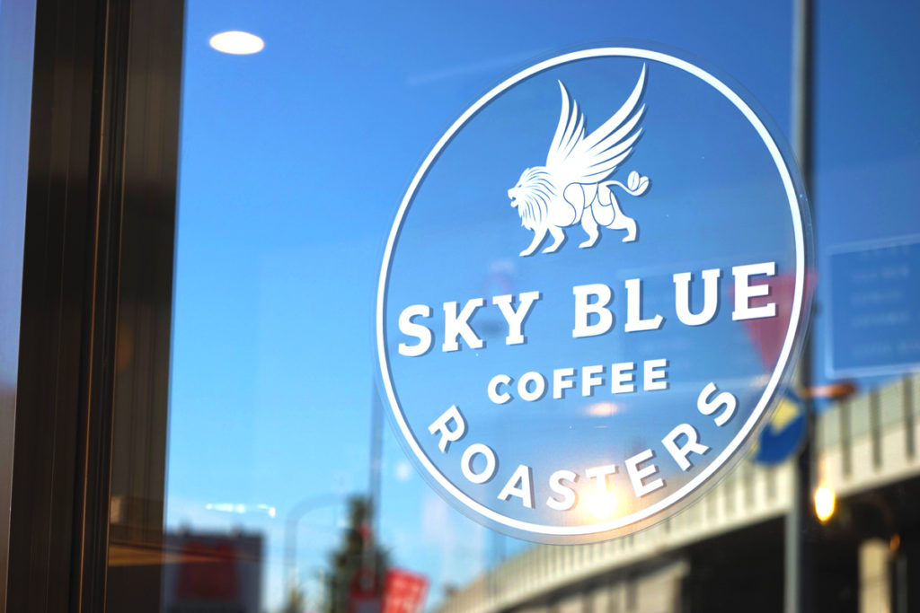 SKY BLUE COFFEE ROASTERSロゴ