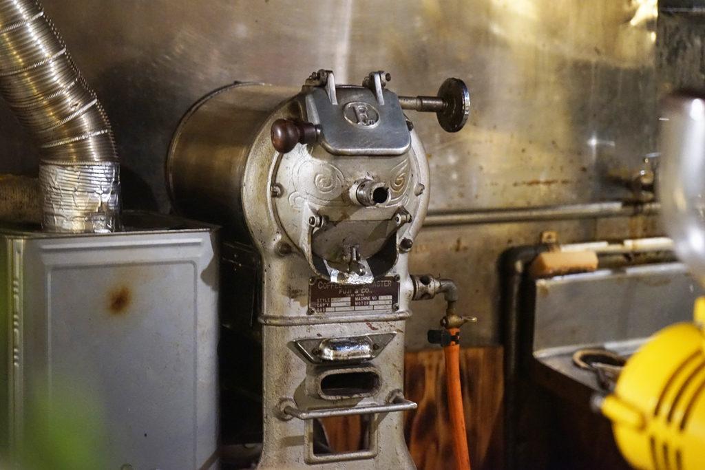 ヴィンテージ焙煎機『豚釜』