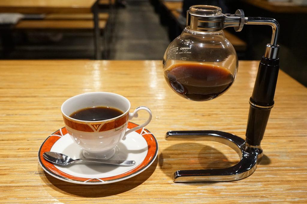 絆珈琲店サイフォンコーヒー