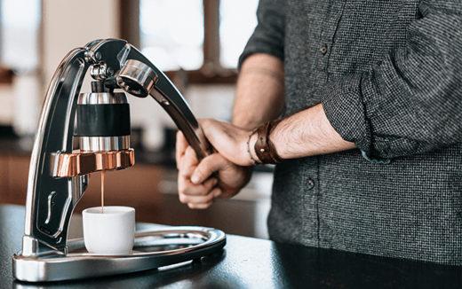 1杯のエスプレッソを追求する無骨なエスプレッソメーカー『Flair Espresso Maker』が登場しています