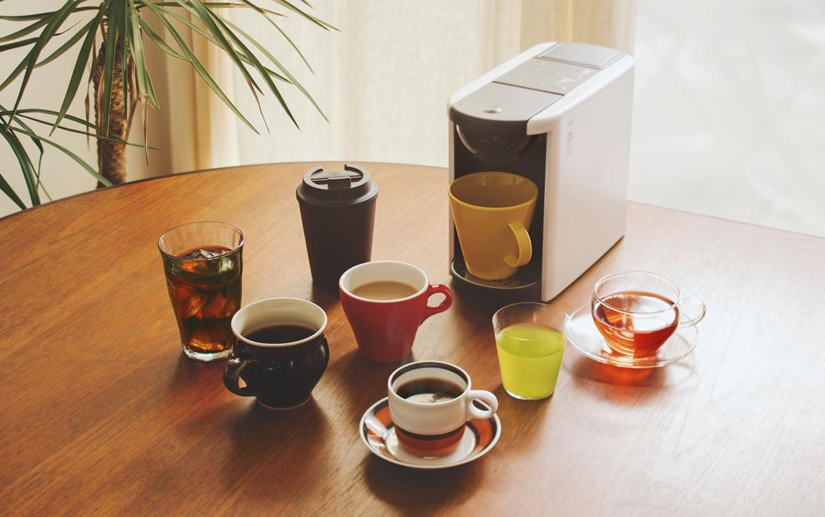 カプセル式マシンの悩みを解決!?UCCからコーヒーメーカー『ドリップポッド DP3』が登場します!