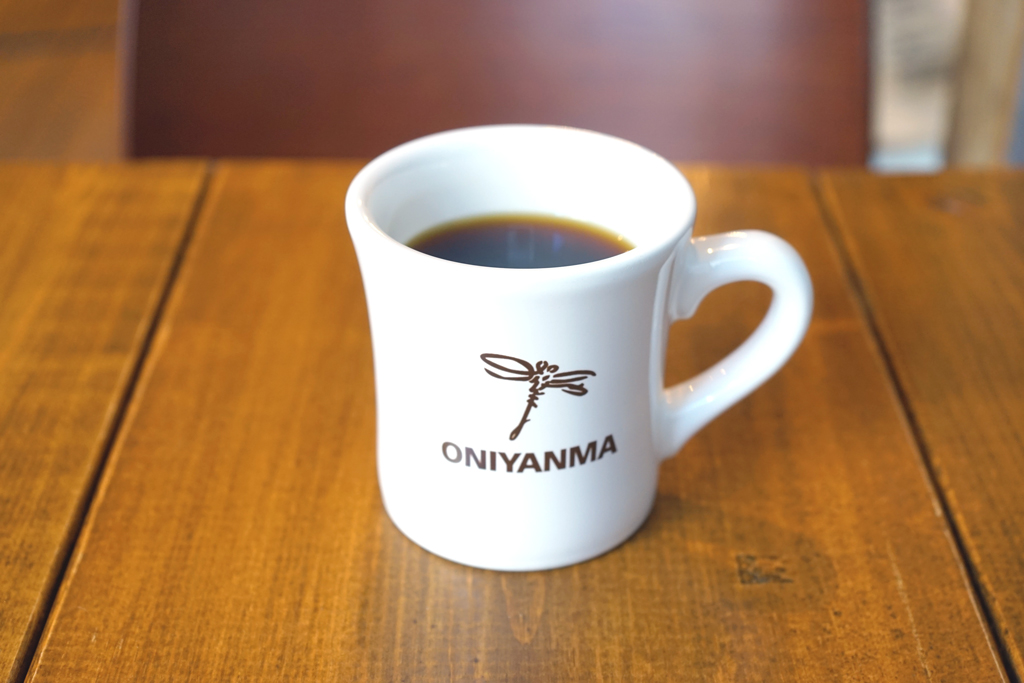 『ONIYANMA COFFEE & BEER』コーヒー