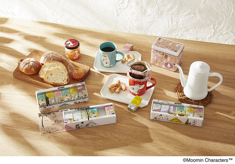 『CAFE@HOME ムーミンシリーズ』イメージ1