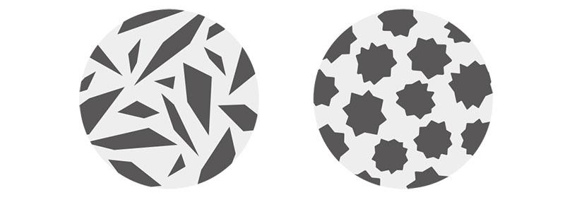 CONE GRINDER C330で挽いた粉のイメージ